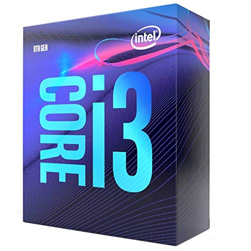 Processore Intel Core i39100 3,6 GHz (Coffee Lake) Sockel 1151 Boxed