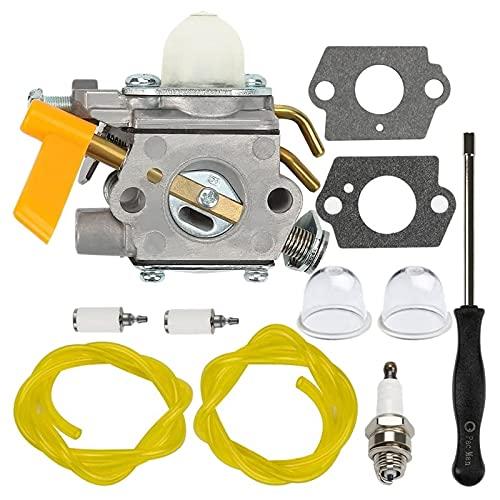 KaKaDz Kit de reemplazo de carburador, Herramienta de Ajuste de carburador C1U-H60 para 25CC 30CC S430 SS26 SS30 CS26 CS30 Cadena Trimmer Práctico y Conveniente