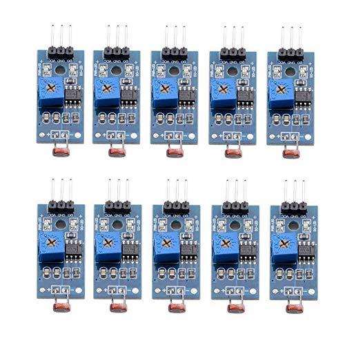 iHaospace Lot de 10 modules de détection de luminosité numérique pour Arduino UNO 3 broches