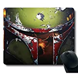 Cool Corselet Soldier Awesome Classic Movie Unique Design Customized Rectangle Gaming Black Mouse Pad