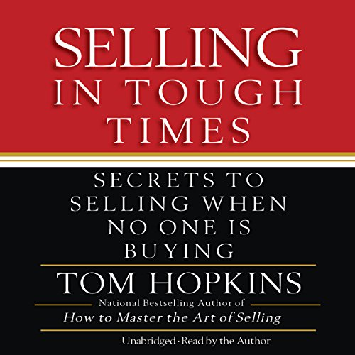 Selling in Tough Times audiobook cover art