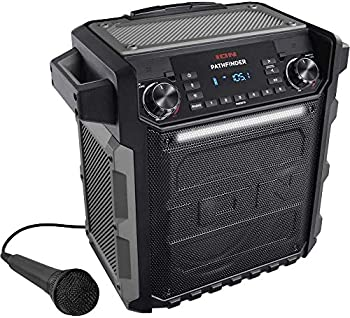 Ion Audio Pathfinder | High Power All-Weather Rechargeable Speaker  Pathfinder Gray   Renewed