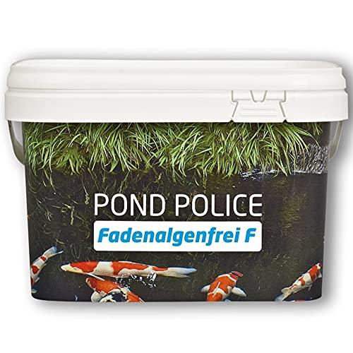 Koi Company Fadenalgenfrei F • Fadenalgenvernichter 2,5kg • Ganzjähriger Algenvernichter für Teich • Phosphatfreier Fadenalgenvernichter Teich