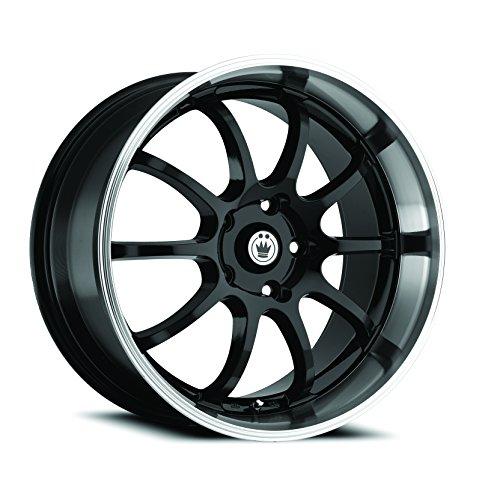 Konig Lightning Gloss Black Wheel with Machined Lip (17x7'/5x100mm)