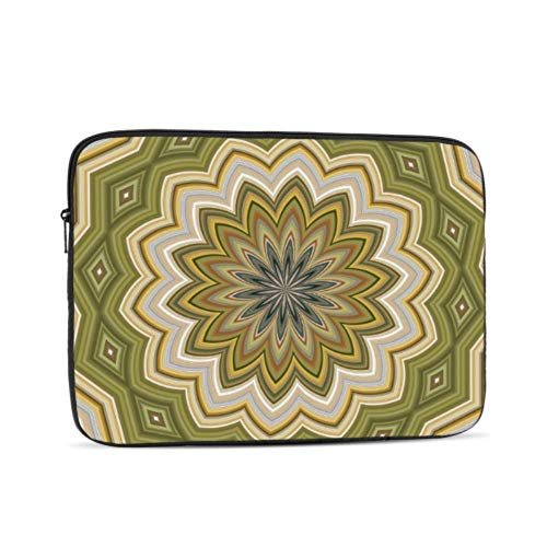 Laptop Protector Abstract Moss Green Element Page MacBook Pro Case 2015 Multi-Color & Size Choices10/12/13/15/17 Inch Computer Tablet Briefcase Carrying Bag