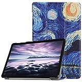 Acelive Cover per Samsung Tab A 10.5, Slim Custodia con Funzione di Auto Sveglia/Sonno Case Protettiva in Pelle PU per Samsung Galaxy Tab A 10.5 Pollici 2018 Tablet SM-T590/T595