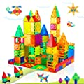 Magnet Toys for 3 Year Old Boys and Girls Magnetic Blocks Building Tiles STEM Learning Toys Montessori Toys for Toddlers Kids by Soyee