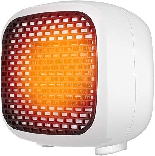 Calentadores Eléctricos Calentador de Ventilador de Cerámica Portátil Oscilación Automática Y 2 Configuraciones de Calor Calentador de Cerámica 2S Fast Heat Space, O&YQ