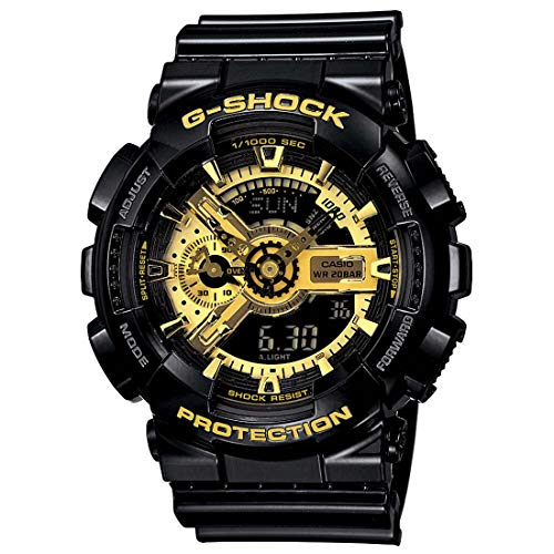 Casio G-Shock X-Large Skeleton Gold Dial GA110GB-1