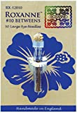 Colonial Needle Roxanne intermedios Agujas-Size 10, 50 Unidades
