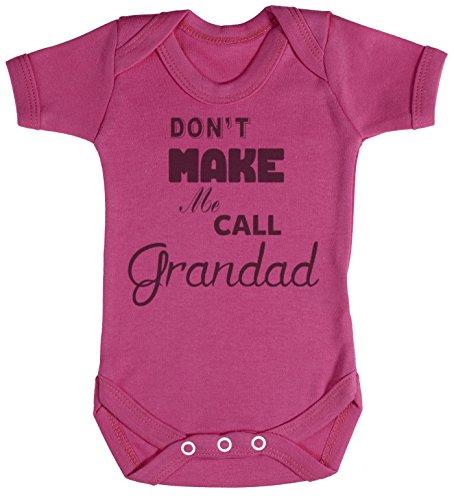 Don't Make Me Call Grandad Body bébé - cadeaux de bébé 18-24 Monate Rose
