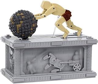 1236 PCS Building Block Sisyphus Kinetic Sculpture, Puzzle Toy Technic Super Racing RC Car Kit, Model Building Blocks Comp...