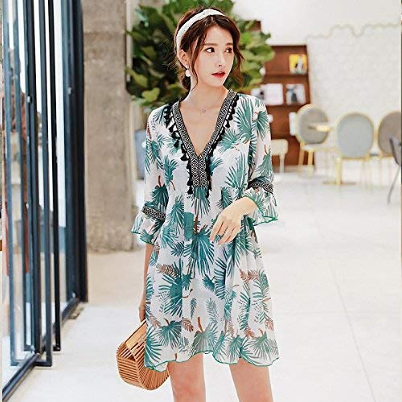 Qiusa Spa-Badeanzug Fashion Sexy High, High, High, Flat 3-Piece Hot Spring Badeanzug, Grün, M (Farbe   Wie Gezeigt, Größe   Einheitsgröße) B07PTQ2MNG  Vitalität 7ce788
