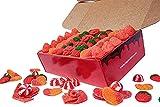 REGALO DULCE Caja Regalo de Chuches, Caja Golosinas de 1 Kg, Caja Regalo de Dulces con 140 Golosinas