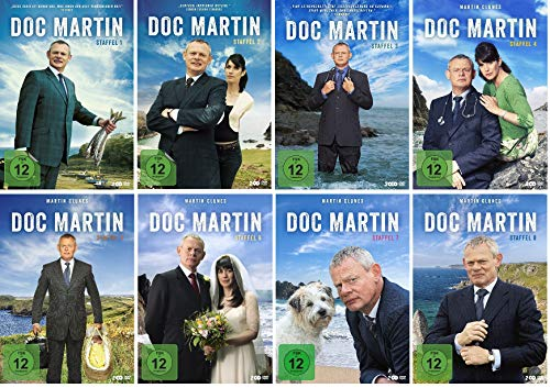 Doc Martin - Staffel 1-8 (17 DVDs)