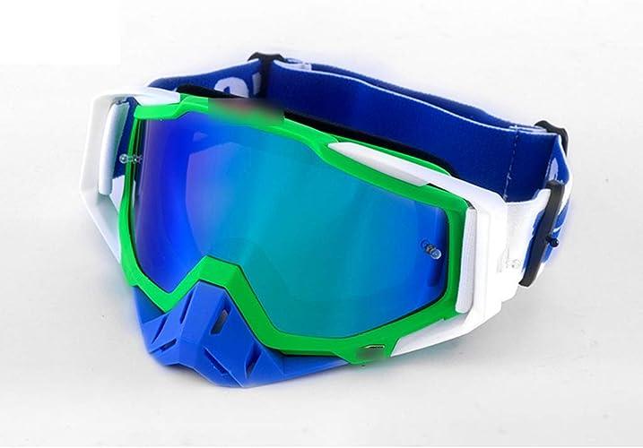 Lunettes de Ski pour Adultes équitation extérieure équipeHommest de Prougeection des Yeux Alpinisme Coupe-Vent Lunettes de Neige Miroir 19.5  11cm LJJOZ (Couleur   C)