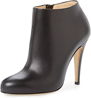 Women Fashion Almond Toe Booties Stiletto High Heels Ankle Boots Comfy Shoes Side Zipper Size 4-15 US