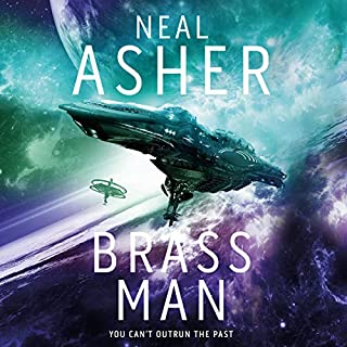 Brass Man     Agent Cormac, Book 3              Written by:                                                                                                                                 Neal Asher                               Narrated by:                                                                                                                                 Ric Jerrom                      Length: 21 hrs and 3 mins     5 ratings     Overall 4.2