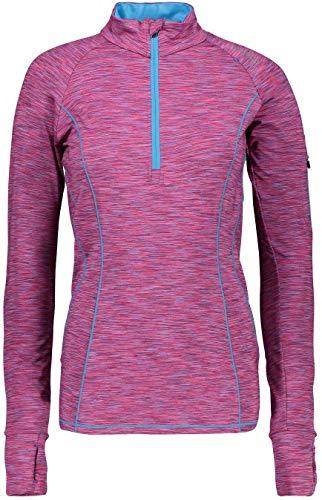 CMP Pull Fonctionnel Shirt Fonctionnel Femme Sweat Rose Respirant - Granita-B.Jewel 68BM, 36
