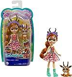 Enchantimals Gabriela Gazelle y Racer Muñeca con mascota, para niñas y niños +4 años (Mattel GTM26)