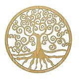 Arbre de vie Décoration murale en bois Ø 30 cm 1 pc Yggrasil Esoterik Symbole de l'arbre de vie | Acheter décoration cadeaux ésotériques pas cher
