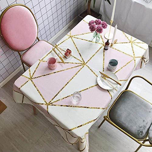 DAGUAI Tablecloth table runner Home Cotton Linen Picnic Table Cloth Tea Table Cloth Desk Cloth 100x140cm