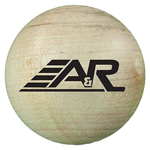 A & R Sports Holz Stick Handling Ball