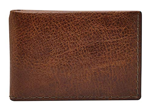 Fossil Beck Money Clip Bifold Cognac