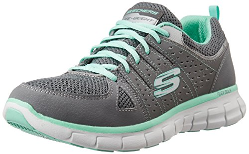 Skechers Damen Synergy-Look Book Laufschuhe, Grau (Gymn), 40 EU