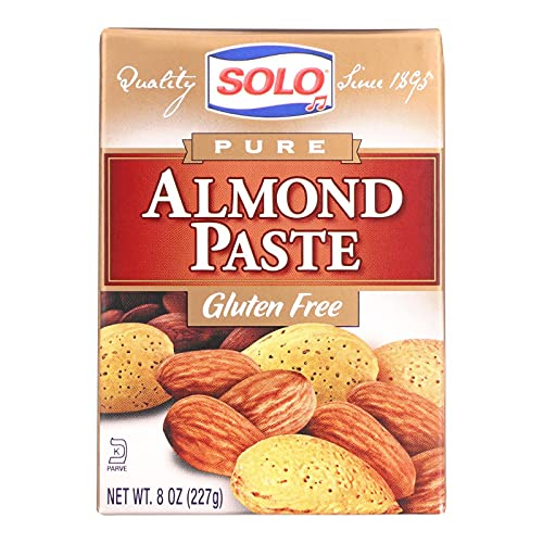 Solo Foods Almond Paste Pure, 8 oz. Pack of 12