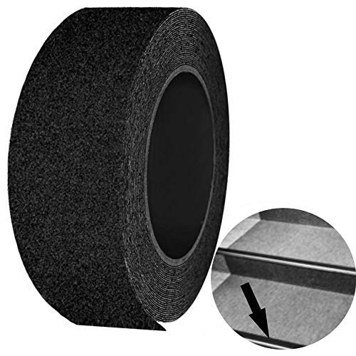 3xProfi Antirutschband Antirutschklebeband Antirutschklebestreifen schwarz 50 mm