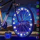 Activ Life Luces de Rueda de Bicicleta (1 neumático, Azul) Regalos de cumpleaños - Lo Mejor para niños geniales 5 6 7 8 9 10 años y Hombres Mayores - Ideas únicas 2020 para él, papá, Hermano, tío
