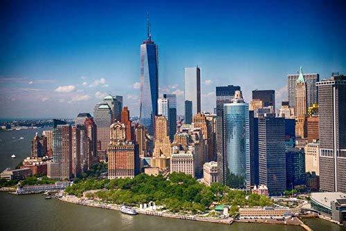 Papermoon Manhattan Skyline Vlies Fototapete 350x260cm.