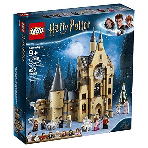 LEGO 75948 Harry Potter Hogwarts Uhrenturm Spielzeug kompatibel mit der Großen Halle und der Peitschenden Weide Sets