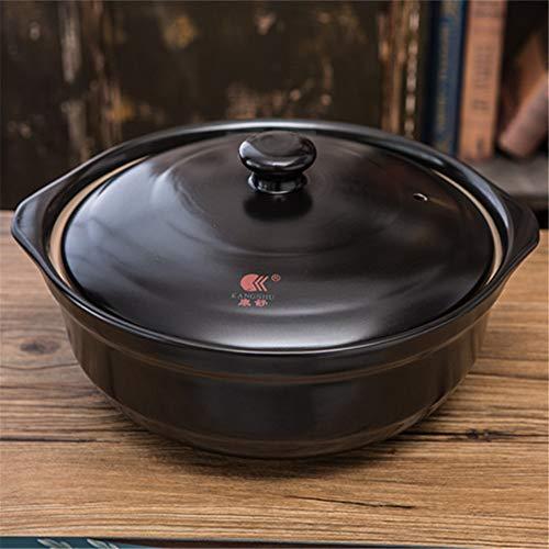 LY Keramik-Auflauf, Enameled Dutch Oven, Hochtemperaturbeständige große Kapazitäts-Suppentopf für alle Herdplatten,3