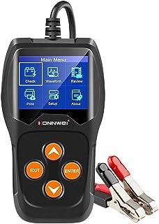 VICASKY 12V Testador de Carga Do Alternador Automotivo Testador de Bateria de Carro Bateria Auto Analisador de Bateria Int...