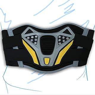 S Nerve Dynamic Cintur/ón de Soporte Lumbar para Moto Negro