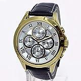 テクノス TECHNOS クオーツ メンズ クロノ 腕時計T4345GS シルバー[逆輸入品][wimp]