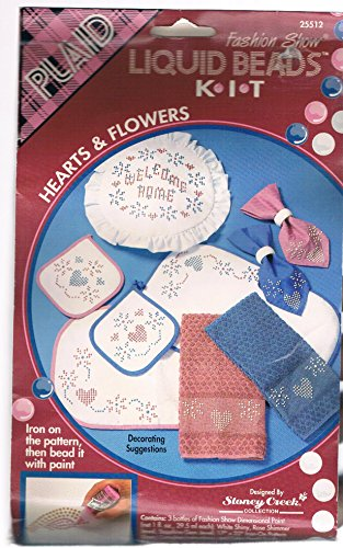 Hearts & Flowers Liquid Beads Fashion Show Kit