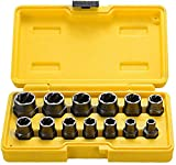 Best Bolt Extractor Sets - Topec Impact Bolt & Nut Remover Set 13 Review