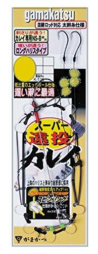 がまかつ(Gamakatsu) スーパー遠投カレイ エッグボール K115 13号-ハリス4. 43609-13-4-07