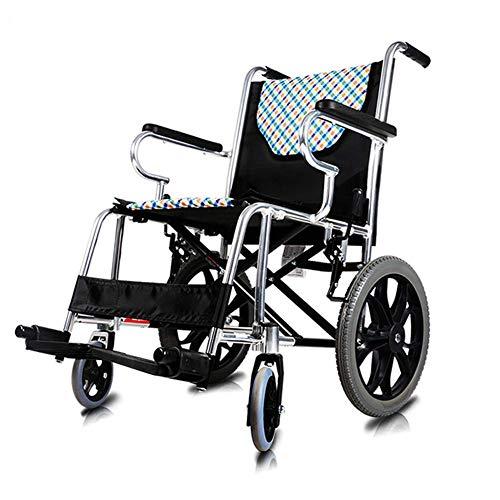 JY Rollstuhl Faltbare Mit Vorne Und Hinten Handbrems Medical Behinderten Ältere Leichtgewicht-Rollstühle Tragbare Reise Flasche