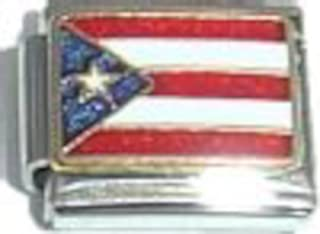 GRAPHICS /& MORE American Samoa US Territory Flag Antiqued Bracelet Pendant Zipper Pull Charm with Lobster Clasp