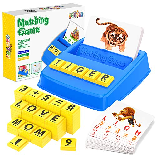 Matching Letter Game for Kids
