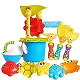 Nargut 11pcs/set de plástico juguetes de playa bañera agua verano arena herramientas para niños regalo al aire libre playa juguetes