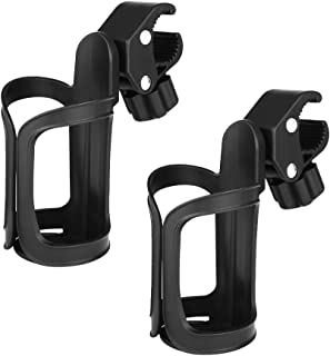 Accmor Bike Cup Holder, Stroller Drink Holders, Universal 360 Degrees Rotation Cup Drink Holder for Bike, Stroller, Pushchair, Wheelchair and Motorcycle