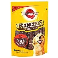 Pedigree Ranchos Dog Treats Beef 7x 70g