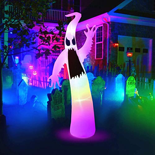 Fineday Inflatable Halloween Hunting Ghost Blow Up Yard Decor Indoor Ghost Lamp, Home Decor for Christmas (UK)