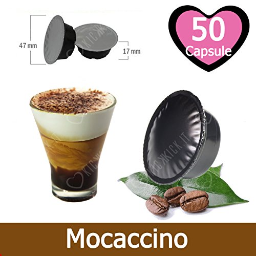 50 Capsule Caffè Mocaccino Lavazza A Modo Mio