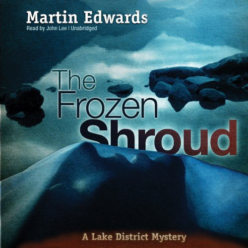 The Frozen Shroud audiobook cover art